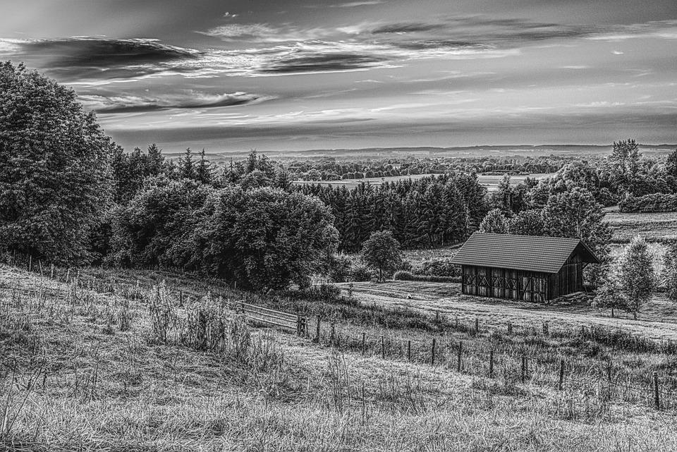 Hitam Dan Putih Pedesaan Gubuk Foto Gratis Di Pixabay