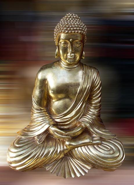 Buddha Statue Sculpture Golden Free Photo On Pixabay