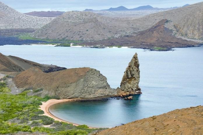 Las Islas Galápagos, Galápagos, Volcánica, Paisaje