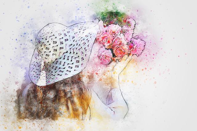 Girl Flowers Hat Free Image On Pixabay