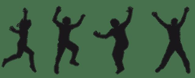 Download Silhouette Human Joy · Free image on Pixabay