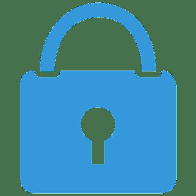 Lock Icon Blue Free Image On Pixabay