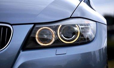 ヘッドライト, Bmw, 自動, 自動車, 車, 豪華な, フロント, 車両