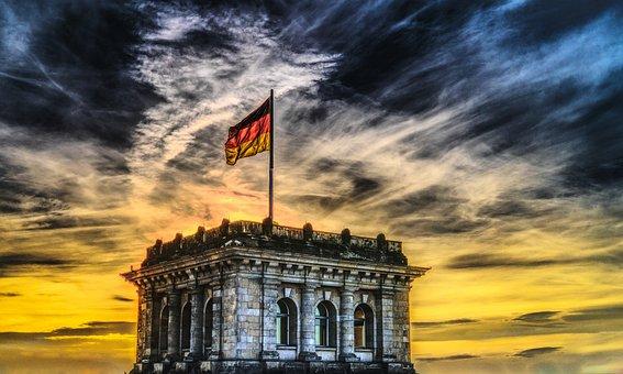 Bundestag, Pavillon Allemand, Reichstag