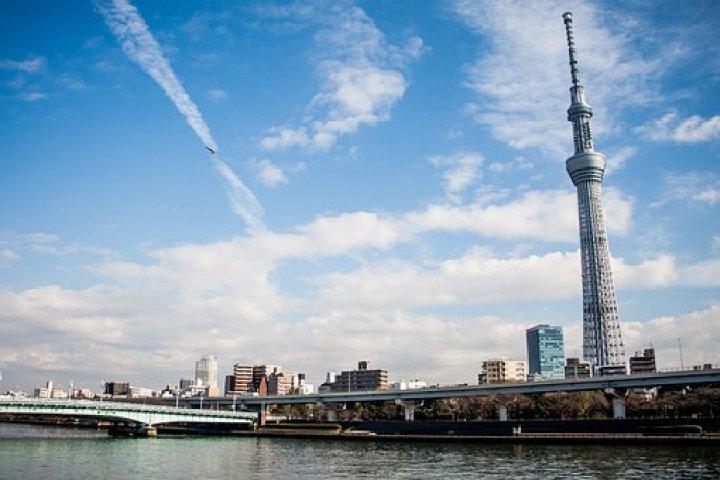 La Naturaleza De La Torre Skytree, Tokio