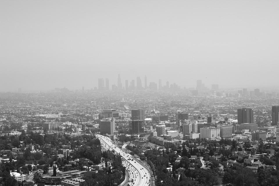 Los Angeles City Landscape Free Photo On Pixabay