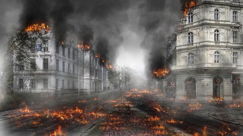 Image result for Destruction-Apocalypse-Explosion-Armageddon