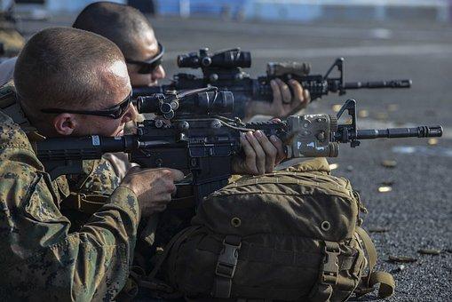 Marines, Usmc, M4A1 Carbine, Training