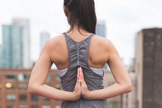 Persone, Donna, Ragazza, Yoga, Meditazione, Fisica