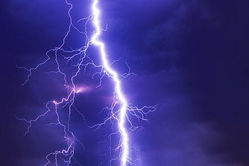 Flash, Thunderstorm, Super Cell, Weather