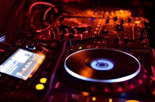 Dj, Songs, Music, Disco, Equipment, Play