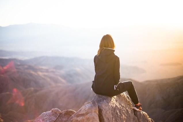 People, Woman, Travel, Adventure, Trek, Mountain, Rock