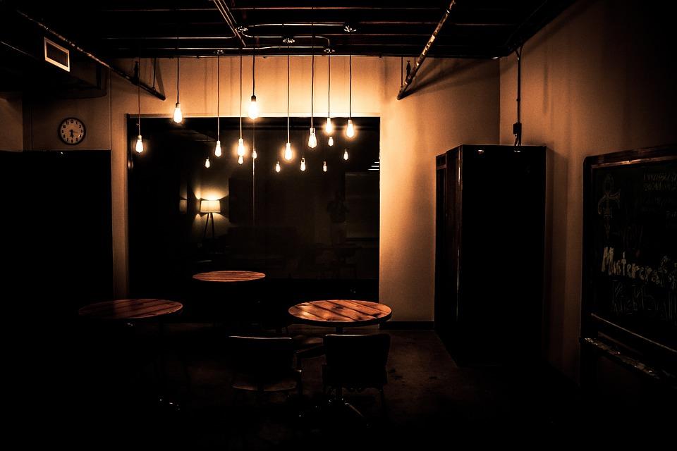 dark room lights free photo on pixabay