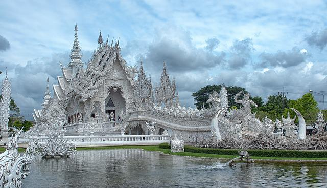 Temple White Travel 183 Free Photo On Pixabay