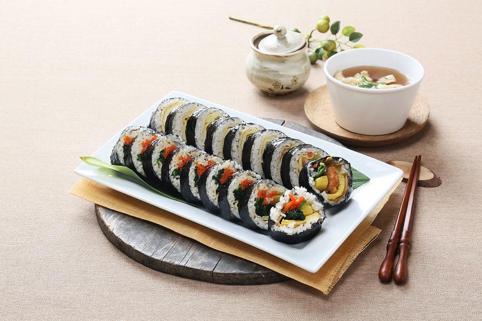 음식사진, 한식, 김밥,유통기한 넘기면 절대 안되는 음식