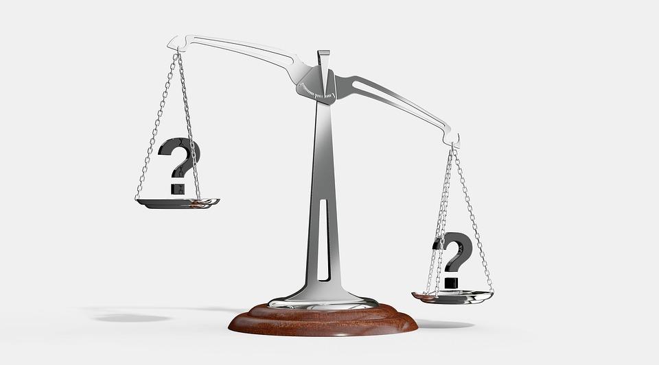 スケール, 質問, 重要性, バランス, 選択, 記号, シンボル, 重量, ビジネス, 測定, 比較, 正義