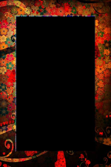Border Pattern Floral 183 Free Image On Pixabay