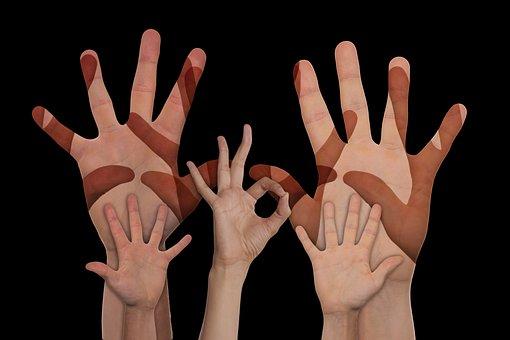 Volunteers, Hands, Voluntary, Help