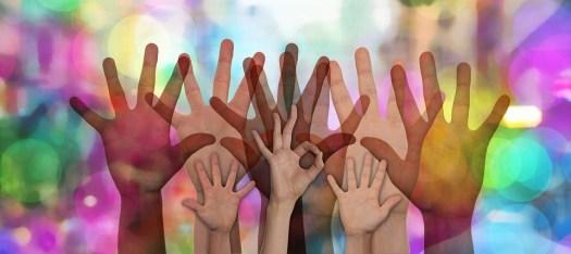 Volontari, Le Mani, Volontaria, Guida, Supporto