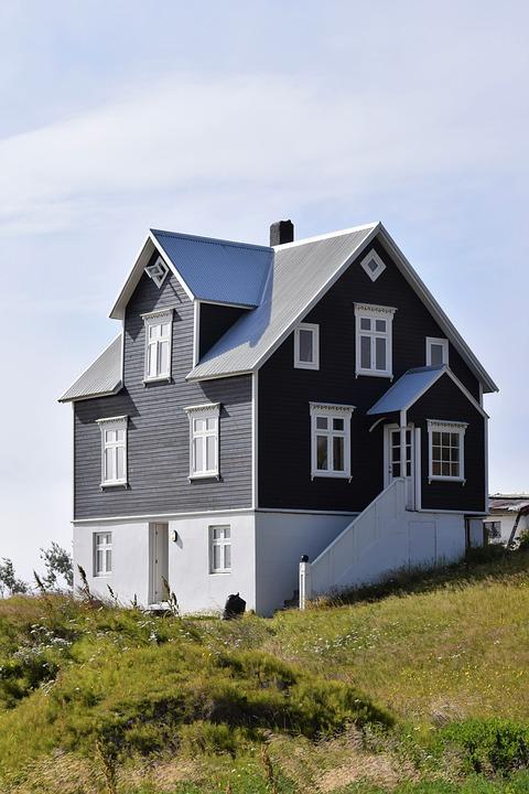 Rumah Hitam Putih Foto Gratis Di Pixabay