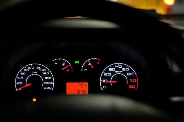 Palubnej Dosky Automobilu, Rýchlomer, Rýchlosť, Auto