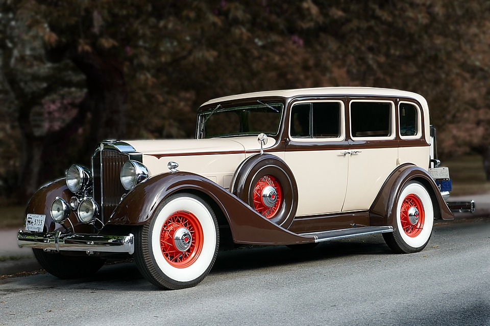 Packard 1934 Car Free Photo On Pixabay