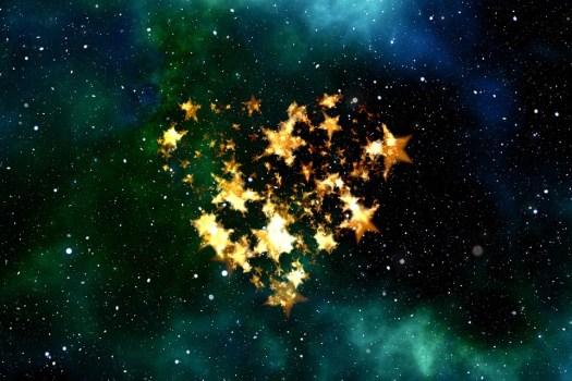 Cuore, Amore, Universo, Spazio, Cielo, Star, Fortuna