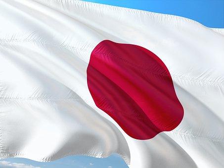 International, Flag, Japan