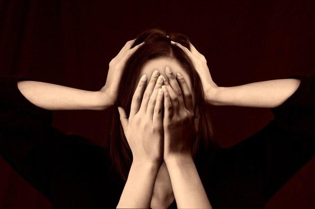 Mulher, Face, Assédio Moral, Stress, Vergonha