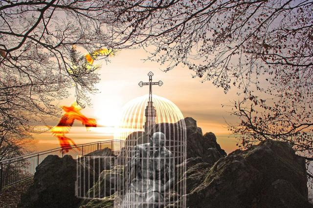 Alma, Morte, Redenção, Eternidade, Luz, Psique