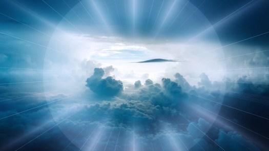 Nubi, Paesaggio, Al Di Là Di, Cielo, Raggi, Majestic