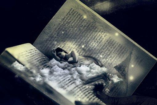 Woman, Bed, Dream, Sleep, Fantasy