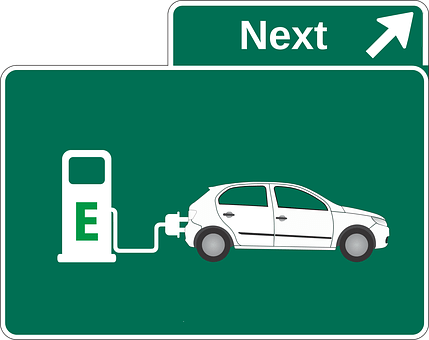 Electric Car, Petrol Stations