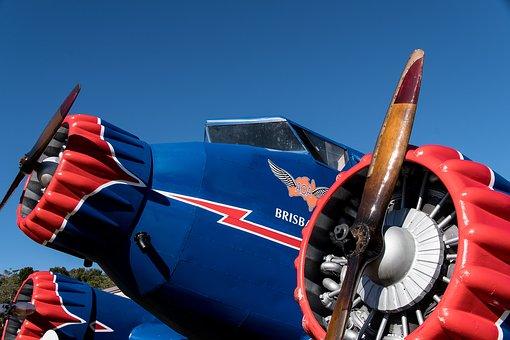 Propeller, Plane, Engine, Aircraft