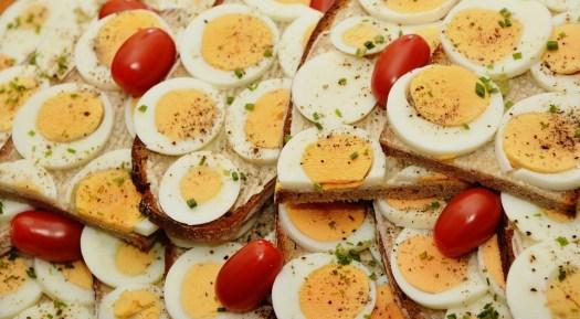 Egg Sandwich, Ovo, Pão, Gema, Ovos, Ovos Cozidos