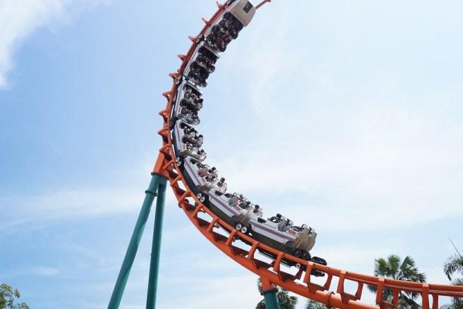 Roller Coaster, Enjoy, Pretty Fun, Happy, Jovial