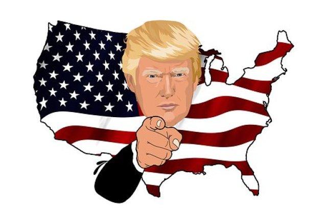 Trump, Presidente, Tío Sam, Ee Uu
