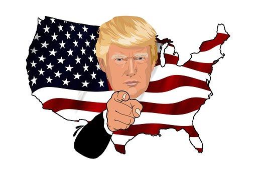 Trump, Président, Oncle Sam, États Unis