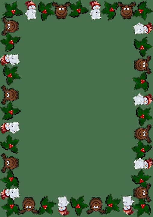 Ramme Julen Lyknskningskort Gratis Billeder P Pixabay