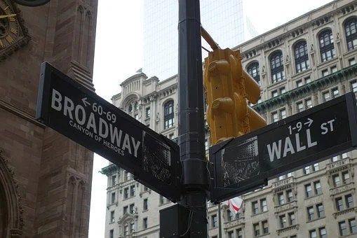 New York, Route, Broadway, Wall Street