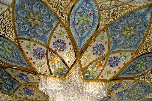 Émirats Arabes Unis, Abu Dhabi, Mosquée