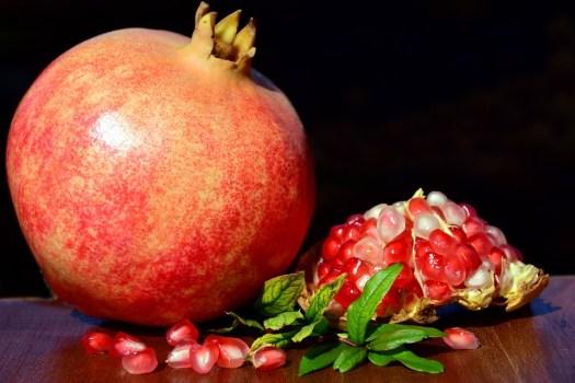 Romã, Frutas, Vermelho, Sementes, Saudável, Delicious