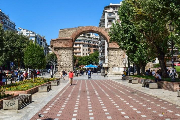 Ελλάδα, Thessaloniki, Αψίδα Του Γαλερίου, Τουρισμού