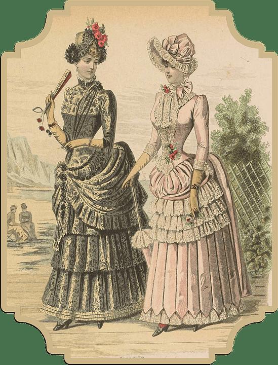 Vintage Fashion Victorian Free Image On Pixabay