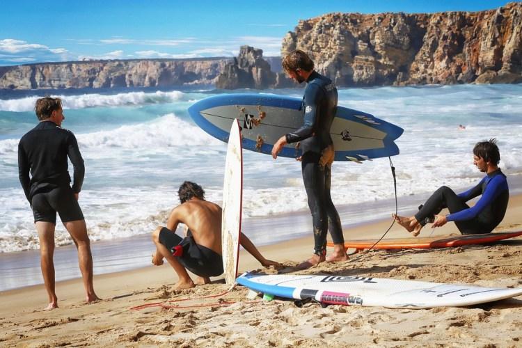Surf, Plage, Océan, Mer, Sport Nautique, Planche