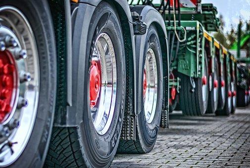 Truck, Heavy Duty, Tractor, Transport