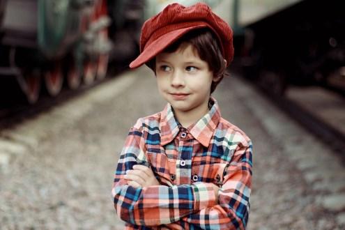 キャップ, 男の子, 笑顔, Yes, はい、お願, 感情, 子供, 小さな子供, 肖像画, 子ども, 白人
