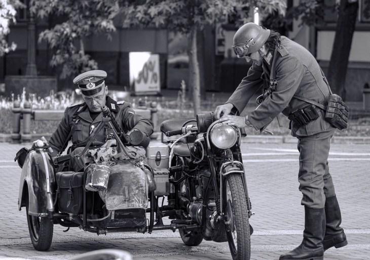 Militares en la segunda guerra mundial.