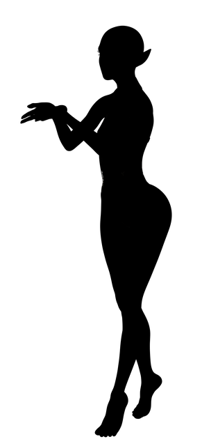 Fee Elf Silhouette Free Image On Pixabay