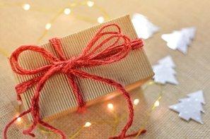 Cadeau, Boîte, Noël, Arc, Présente